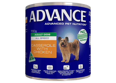Advance Dog Adult All Breed Chicken Casserole
