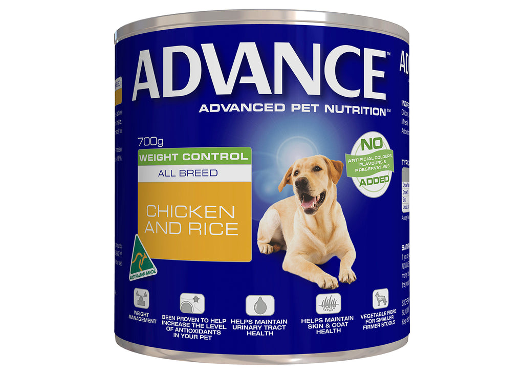 Advance Dog Adult All Breed Weight Control Chicken & Rice