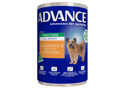 Advance Adult Dog All Breed Chicken Casserole