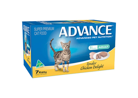 Advance Adult Cat Tender Chicken Tray