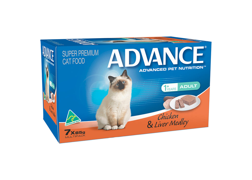 Advance Adult Cat Chicken Liver Tray
