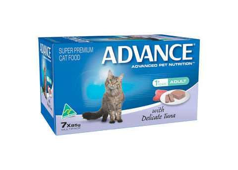 Advance Adult Cat Delicate Tuna Tray