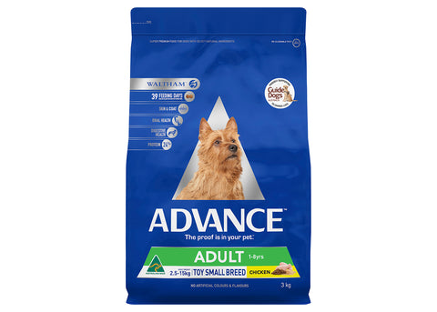 Advance Dog Adult Toy & Small Breed Chicken