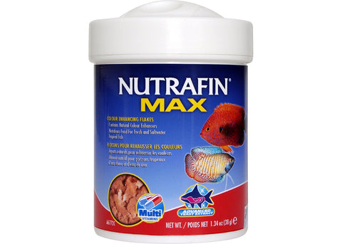 Nutrafin Max Trop Color Enhance Flakes