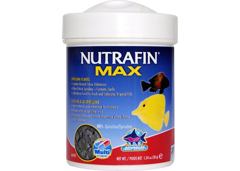 Nutrafin Max Tropical Spirulina Flakes