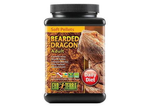 Exo Terra Bearded Dragon Soft Pellets - Adult
