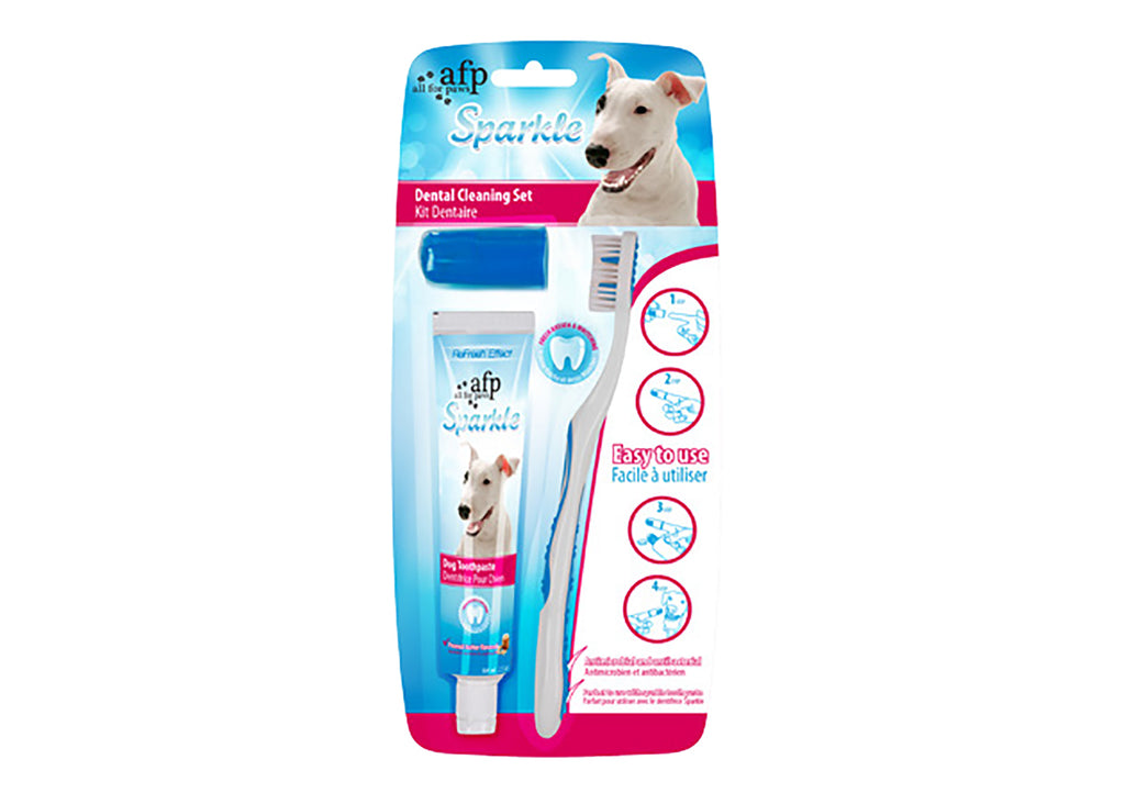 All For Paws Dog Sparkle Dental Cleaning Set