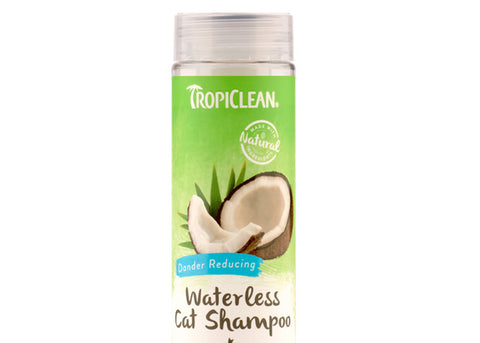 Tropiclean Waterless Aqua De Coco Dander Reducing Shampoo for Cats