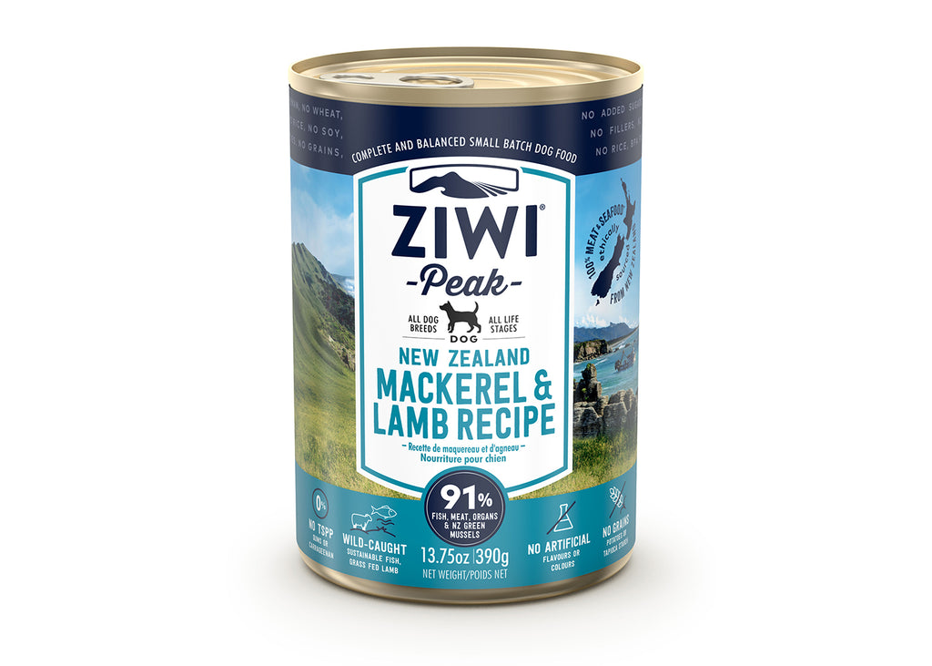 Ziwi Peak Dog Can Mackerel & Lamb