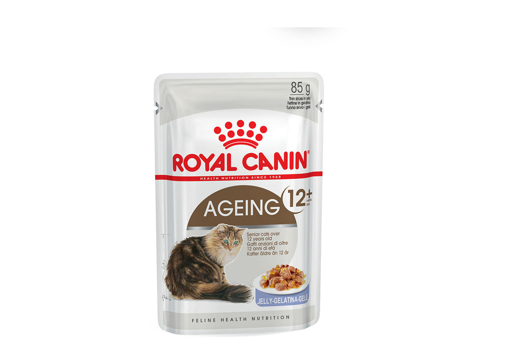 Royal Canin Ageing 12+ Chunks in Jelly Pouch