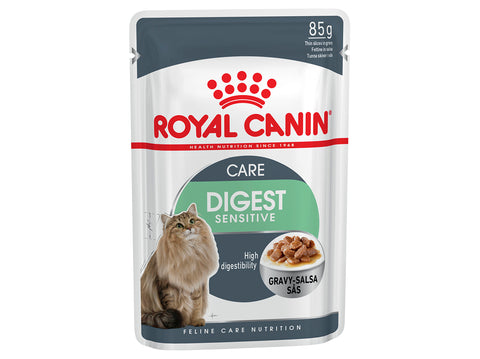 Royal Canin Digest Sensitive Chunks in Gravy Pouch