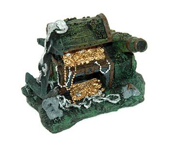 Aqua Pet Treasure Chest Cannon