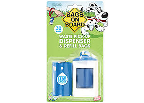Bags On Board Dispenser Pack (30 Bags)
