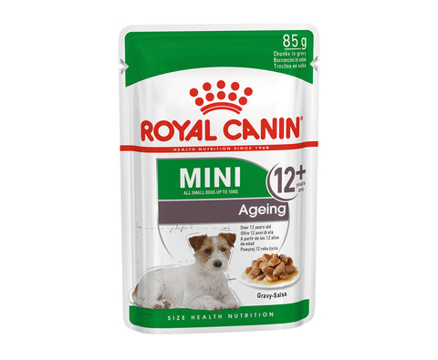 Royal Canin Ageing 12+ Chunks in Gravy Pouch
