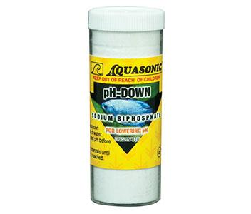 Aquasonic pH-Down Vial