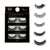 3 Pairs Natural False Eyelashes Beauty Make up Thick Cross