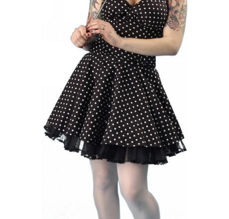 Polka dot pin up rok