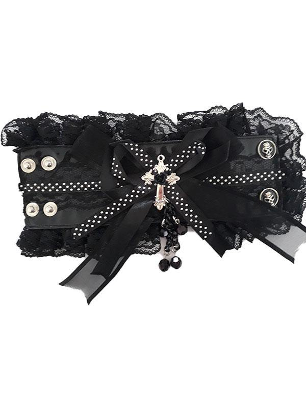 Bows and Skulls Armband - Divine-Darkness
