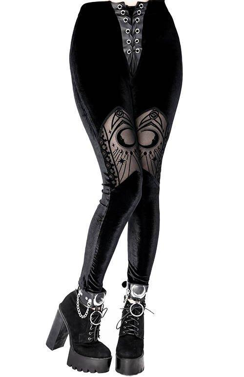 Cathedral Leggings - Divine-Darkness