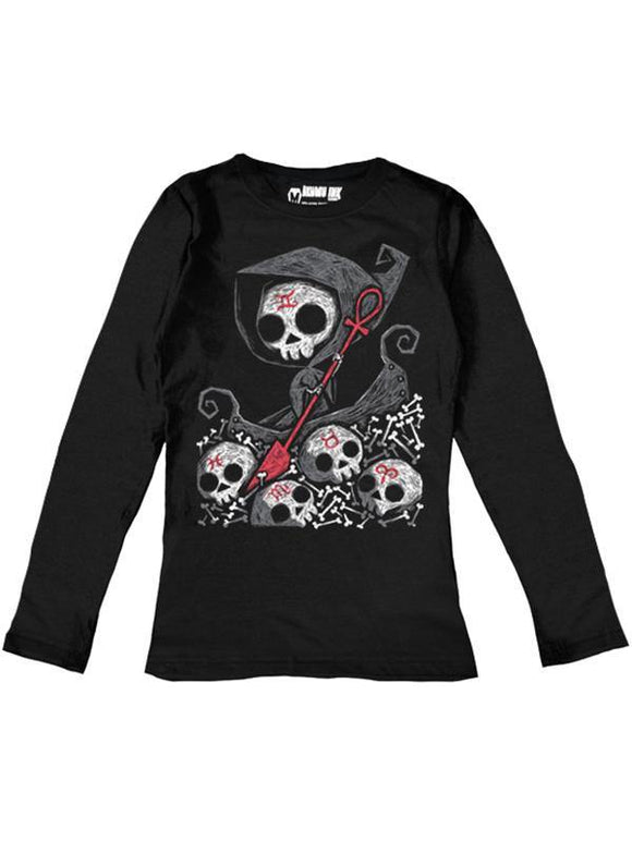 Infernal River Dames Longsleeve Top