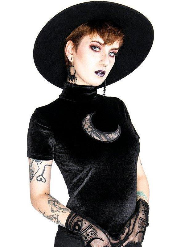 Moon Velvet Top - Divine-Darkness
