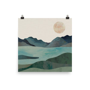 Twin Lakes • Art Print