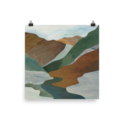 Mountain River • Art Print