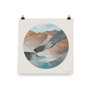 Mountain Moon • Art Print