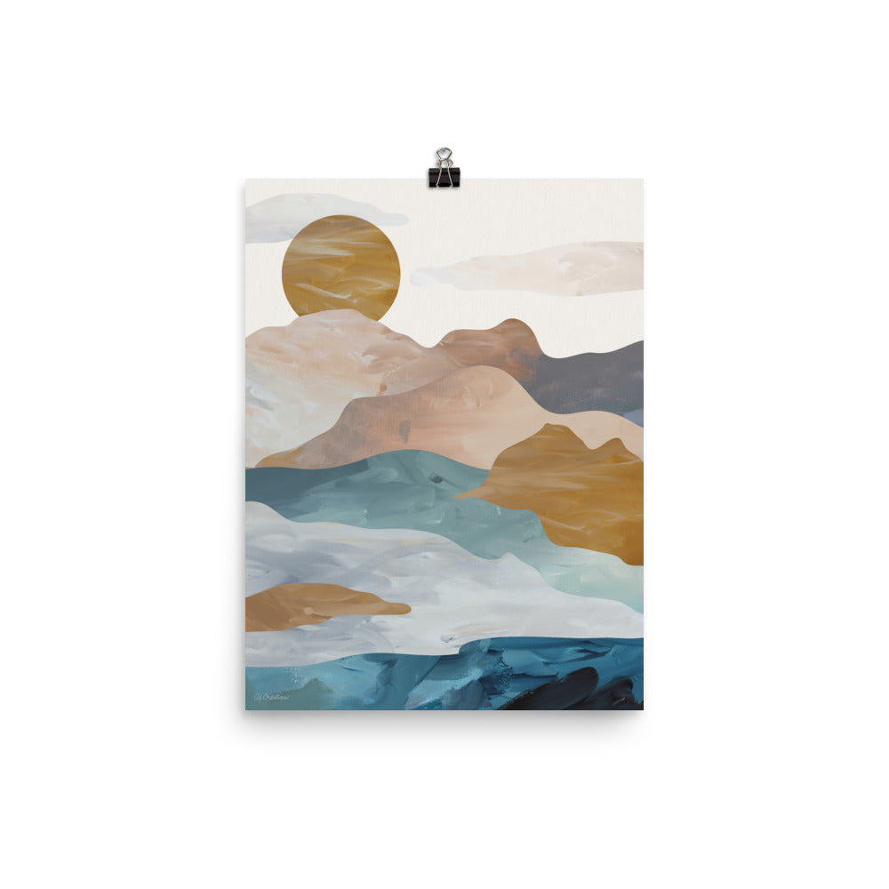 Mountain Sunset • Art Print