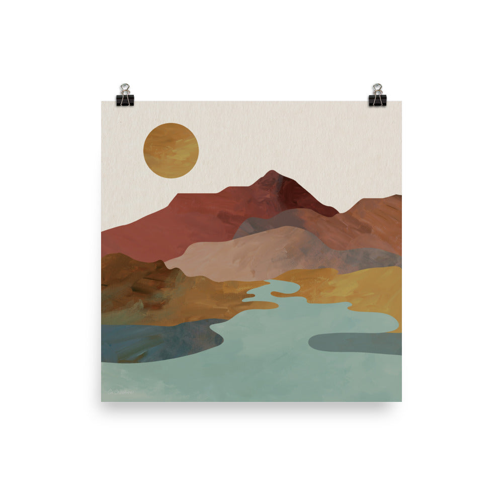 Mountain Sol • Art Print