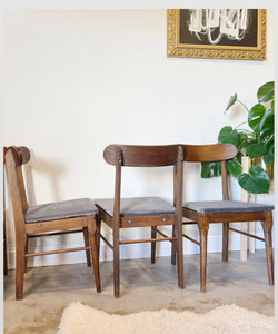 Set of 4 Mid Century Modern Chairs