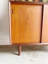 Load image into Gallery viewer, Mid Century Modern Teak Cabinet