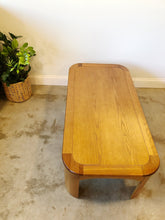 Load image into Gallery viewer, Mid Century Modern Oak Coffee Table