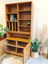 Load image into Gallery viewer, Teak Cabinet with Hutch
