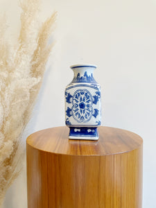 Ceramic Blue & White Vase