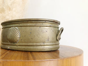 Brass shell Planter