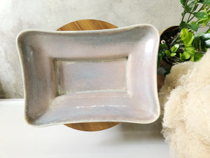 MCM ceramic serving dish