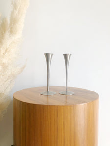 Mid Century Modern Candle Sticks Made In Germany