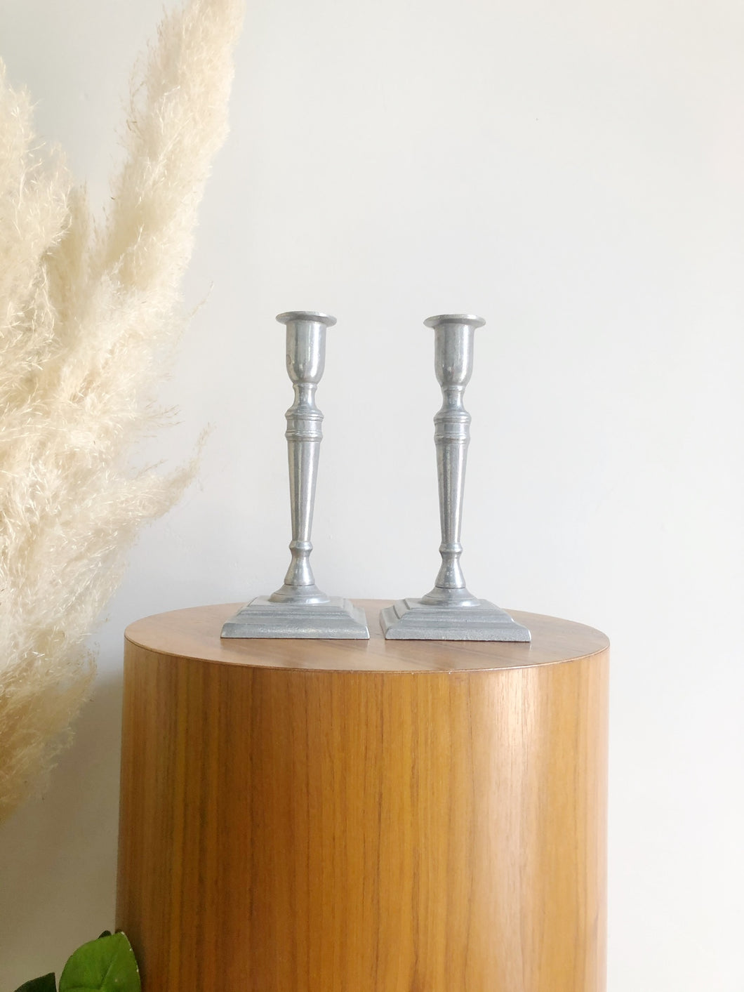Pewter Candle sticks