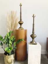 Load image into Gallery viewer, Solid Brass Stiefle Table lamps