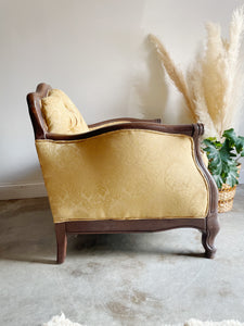 Yellow Club Chair
