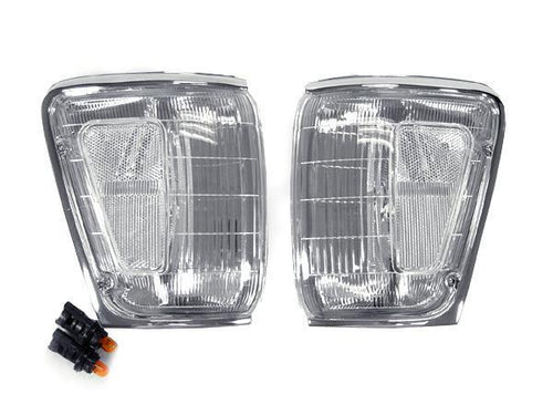 1990-1991 Toyota 4Runner All Clear Corner Light Made by DEPO-Lighting-4Runner-Depot-CL-TY-4RUN-90-CLR-4Runner-Depot