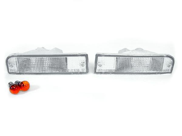 1992-1995 Toyota 4Runner All Clear Bumper Turn Signal Light Made by DEPO-Lighting-4Runner-Depot-BL-TY-4RUN-92-CLR-4Runner-Depot