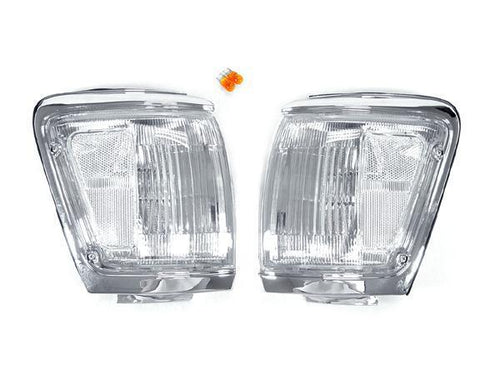 1992-1995 Toyota 4Runner All Clear Corner Light Made by DEPO-Lighting-4Runner-Depot-CL-TY-4RUN-92-CLR-4Runner-Depot