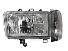 Load image into Gallery viewer, 1992-1995 Toyota 4Runner Euro Crystal Style GLASS Lens Front Headlight with Matching Corner Light Set Made by DEPO-Lighting-4Runner-Depot-HL-TY-4RUN-92-E-C-SET + CL-TY-4RUN-92-C-CLR-SET-4Runner-Depot