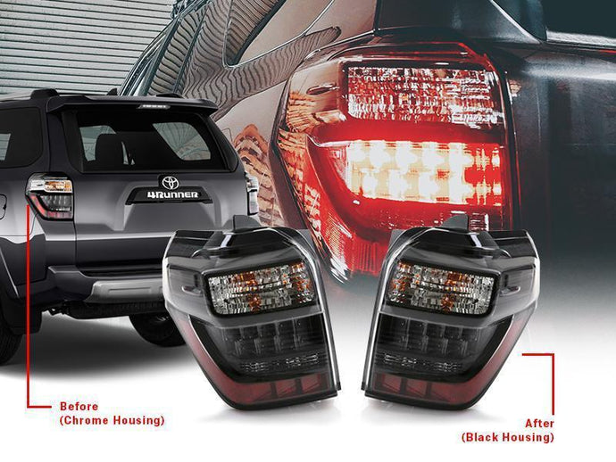 2010-2020 Toyota 4Runner BLACKOUT LED Rear Tail Lights Made by DEPO-Lighting-4Runner-Depot-No Thank you-4Runner-Depot