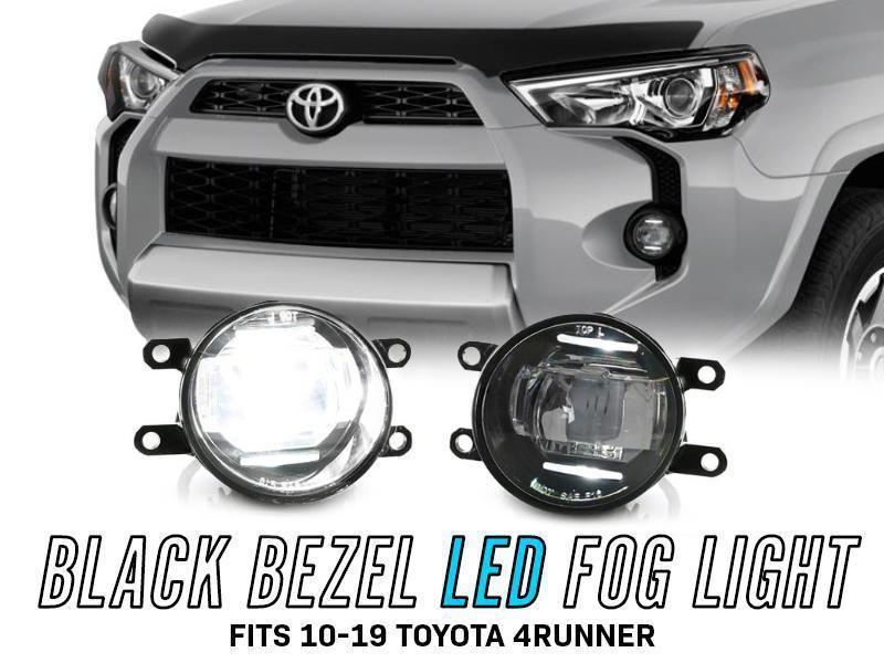 2010-2020 Toyota 4Runner Full Built-In LED Fog Light With Dual DRL LED Bars-Lighting-4Runner-Depot-4Runner-Depot