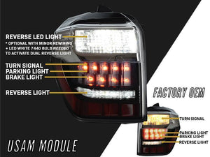 2014-2020 Toyota 4Runner Signal Activation Module Convert OEM Tail Brake Light To LED Turn Signal Upgrade Made by Unique Style Racing-Lighting-4Runner-Depot-4Runner-Depot