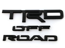 Load image into Gallery viewer, 2014-2020 Toyota 4Runner TRD OFF ROAD BLACK OUT Replacement Emblem Badge For Rear Side of the Vehicle - One Pair
