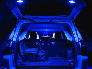 2014-2021 Toyota 4Runner LED Interior Light Set - Center Dome Light, Door Courtesy Light, Map Light, Rear Cargo Lift Gate Light